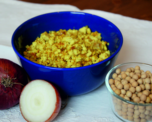 Bild zum Rezept Vegane Eierspeise
