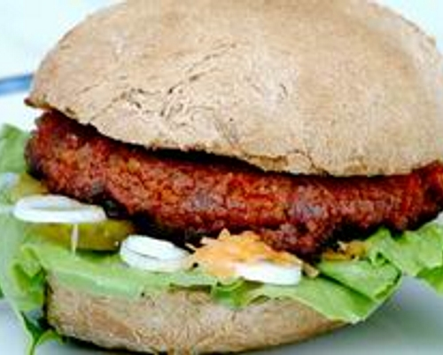 Bild zum Rezept Fitness-Burger